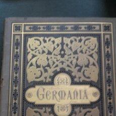 Libros antiguos: GERMANIA – DOS MIL AÑOS DE HISTORIA ALEMANA - JUAN SCHERR. Lote 51525308