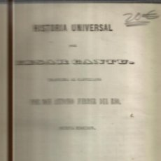 Libros antiguos: HISTORIA UNIVERSAL. CESAR CANTU. MELLADO EDITOR. MADRID. 1848. TOMO XVIII. Lote 52027749