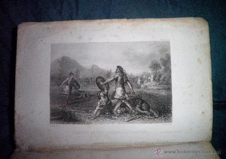 Libros antiguos: ROMA ANTIGUA Y MODERNA - AÑO 1857 -M.LAFON - BELLOS GRABADOS GRAN FORMATO. - Foto 5 - 52468812