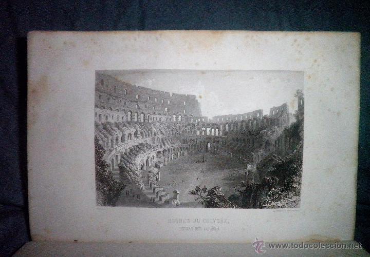 Libros antiguos: ROMA ANTIGUA Y MODERNA - AÑO 1857 -M.LAFON - BELLOS GRABADOS GRAN FORMATO. - Foto 6 - 52468812