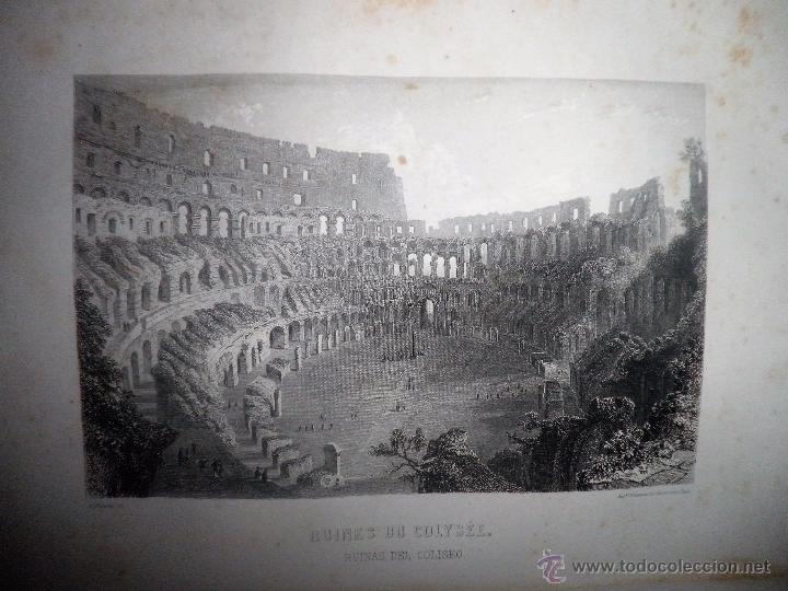 Libros antiguos: ROMA ANTIGUA Y MODERNA - AÑO 1857 -M.LAFON - BELLOS GRABADOS GRAN FORMATO. - Foto 7 - 52468812