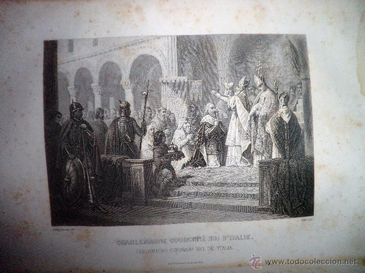 Libros antiguos: ROMA ANTIGUA Y MODERNA - AÑO 1857 -M.LAFON - BELLOS GRABADOS GRAN FORMATO. - Foto 8 - 52468812
