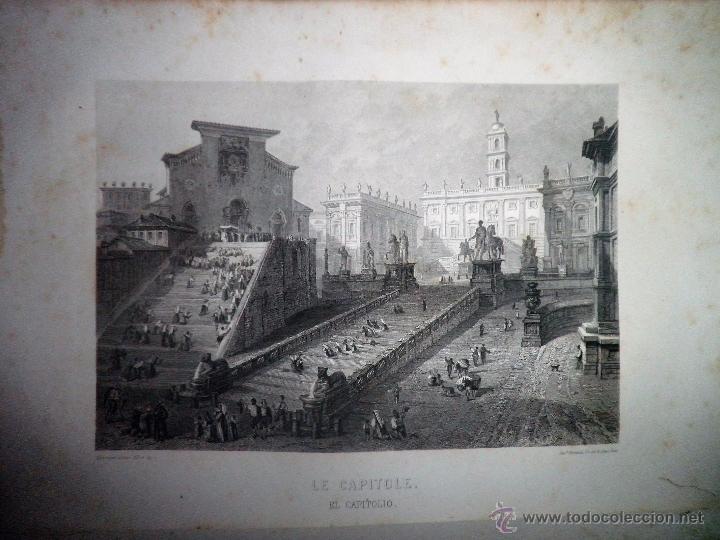 Libros antiguos: ROMA ANTIGUA Y MODERNA - AÑO 1857 -M.LAFON - BELLOS GRABADOS GRAN FORMATO. - Foto 9 - 52468812
