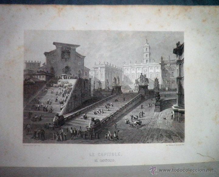 Libros antiguos: ROMA ANTIGUA Y MODERNA - AÑO 1857 -M.LAFON - BELLOS GRABADOS GRAN FORMATO. - Foto 10 - 52468812