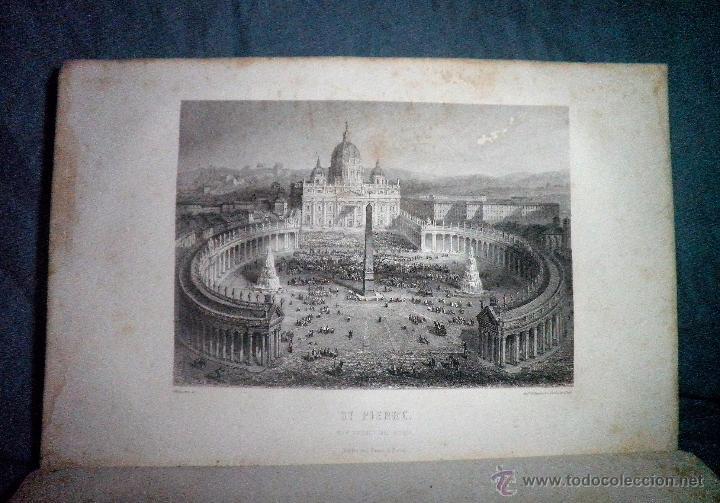 Libros antiguos: ROMA ANTIGUA Y MODERNA - AÑO 1857 -M.LAFON - BELLOS GRABADOS GRAN FORMATO. - Foto 13 - 52468812