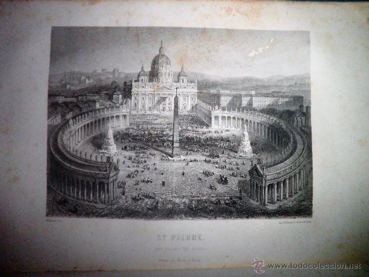 Libros antiguos: ROMA ANTIGUA Y MODERNA - AÑO 1857 -M.LAFON - BELLOS GRABADOS GRAN FORMATO. - Foto 14 - 52468812