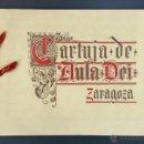 Libros antiguos: ALBUM DE LA CARTUJA DE AULA DEI // ZARAGOZA AÑO 1935. Lote 52541107