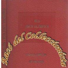 Libros antiguos: ELS JOCS OLIMPICS, JOSEP ELIAS I JUNCOSA, ENCICLOPEDIA CATALANA VOL. 21, 1920. Lote 52707038
