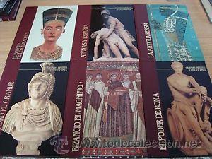 GRANDES IMPERIOS Y CIVILIZACIONES. EDITORIAL SARPE. 24TOMOS (Libros antiguos (hasta 1936), raros y curiosos - Historia Antigua)