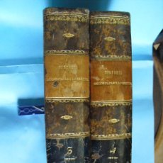 Libros antiguos: HISTORIA DE LOS PAPAS Y LOS REYES, 2 TOMOS EL 3, 1870, Y EL 4, 1871,CON ILUSTRACIONES,. Lote 52724402