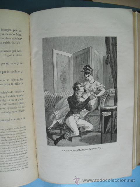 Libros antiguos: Historia de los papas y los reyes, 2 tomos el 3, 1870, y el 4, 1871,con ilustraciones, - Foto 5 - 52724402