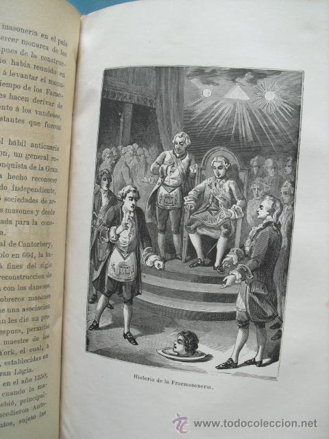 Libros antiguos: Historia de los papas y los reyes, 2 tomos el 3, 1870, y el 4, 1871,con ilustraciones, - Foto 9 - 52724402