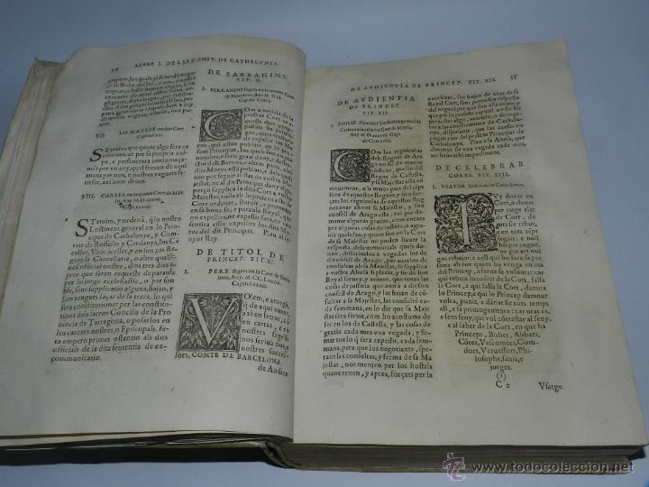 Libros antiguos: CONSTITUCION DE CATALUÑA 1588, CONSTITVTIONS I ALTRES DRETS DE CATHALUNYA COMPILATS EN VIRTUT DEL CA - Foto 5 - 52953789