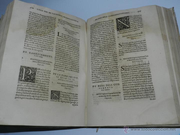 Libros antiguos: CONSTITUCION DE CATALUÑA 1588, CONSTITVTIONS I ALTRES DRETS DE CATHALUNYA COMPILATS EN VIRTUT DEL CA - Foto 6 - 52953789