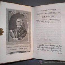 Libros antiguos: OCAMPO, FLORIÁN DE: CORONICA GENERAL DE ESPAÑA. 8 VOLS. 1791. Lote 53155806