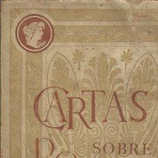 Libros antiguos: CARTAS SOBRE POMPEI. EMILIO PI Y MOLIST. 1895. Lote 53480572