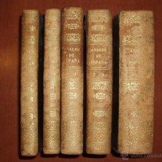 Libros antiguos: ANALES DE ESPAÑA DESDE SUS ORIGENES HASTA EL TIEMPO PRESENTE, ORTIZ DE LA VEGA. AÑO 1857.COMPLETO. Lote 53565051