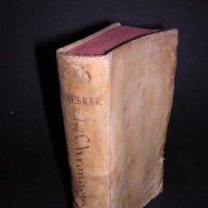 Libros antiguos: 1581 - GILBERTI GENEBRARDI - CHRONOGRAPHIAE LIBRI QUATUOR. Lote 53622094