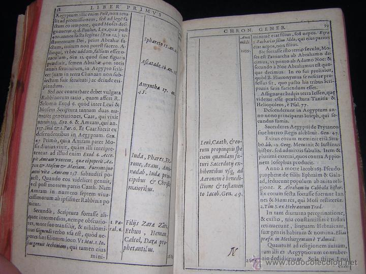 Libros antiguos: 1581 - GILBERTI GENEBRARDI - CHRONOGRAPHIAE LIBRI QUATUOR - Foto 7 - 53622094