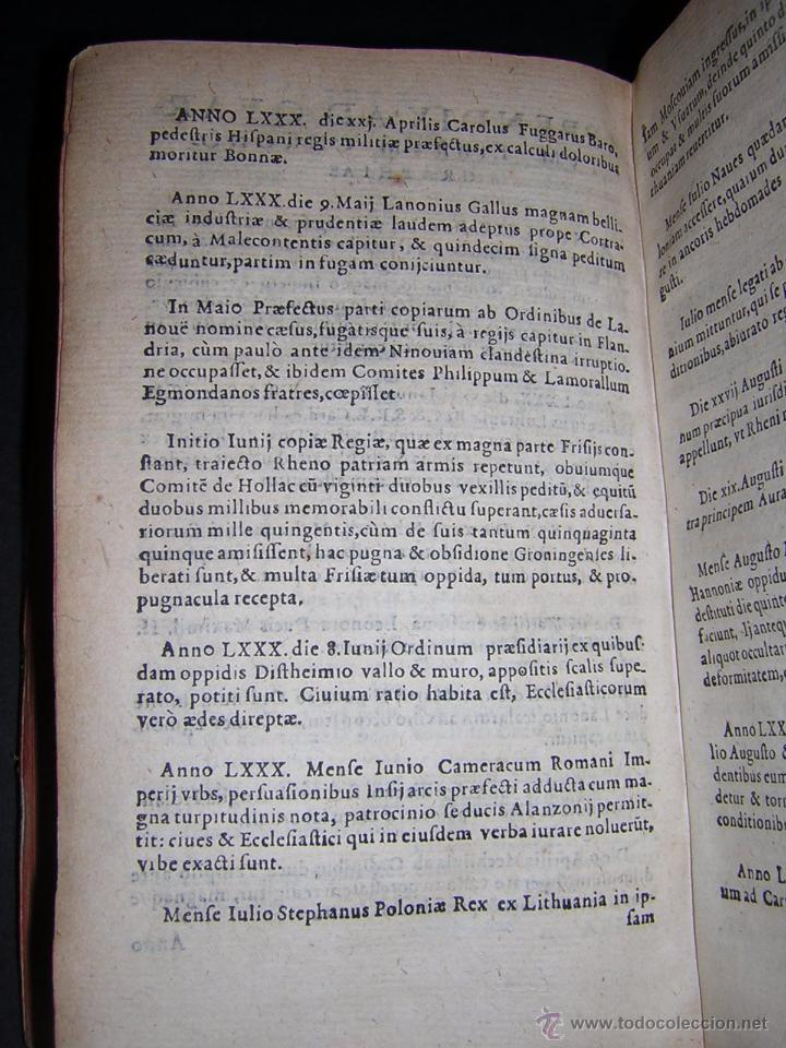 Libros antiguos: 1581 - GILBERTI GENEBRARDI - CHRONOGRAPHIAE LIBRI QUATUOR - Foto 10 - 53622094