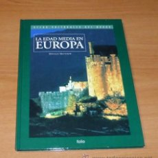 Libros antiguos: LA EDAD MEDIA EN EUROPA - DONALD MATTHEW. ATLAS CULTURALES DEL MUNDO V. Lote 53665346