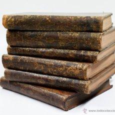 Libros antiguos: ANALES DE ESPAÑA, ORTIZ DE LA VEGA. 1859. 6 TOMOS: 1,3,5,7,9,10.. Lote 53744304