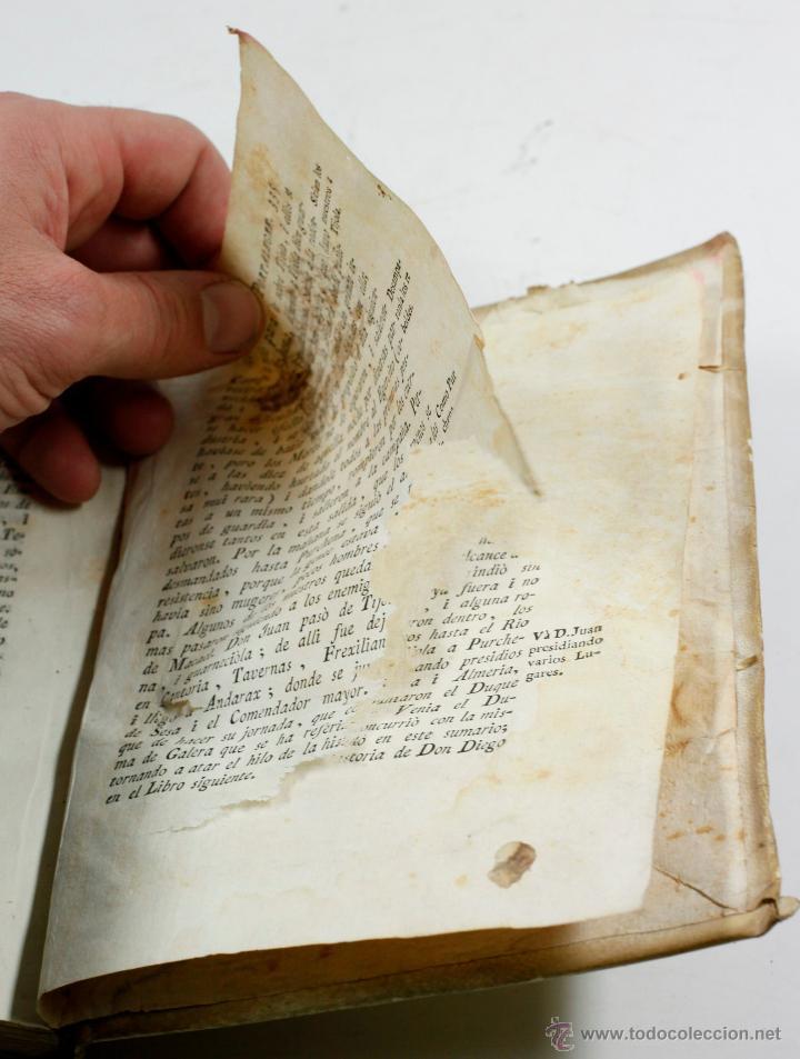 Libros antiguos: GUERRA DE GRANADA, DIEGO HURTADO, VALENCI, 1776. 15X20 CM. - Foto 2 - 53782609