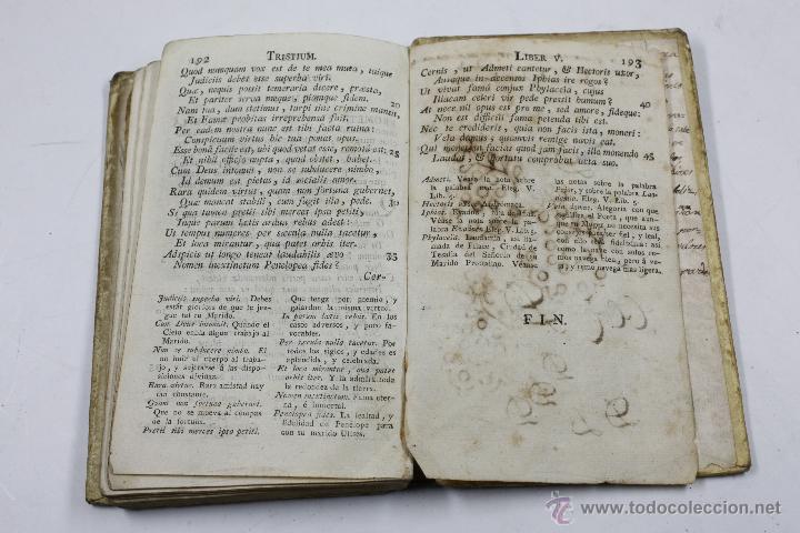 Libros antiguos: P. OVIDII NASONIS TRISTIUM, LIBRI V. BARCINONE, PIFERRER ED. - Foto 3 - 53799772