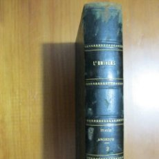 Libros antiguos: ITALIE ANCIENNE, TOMO 2, 1851, DURUY, FILON, LACROIX ET YANOSKI. 5 MAPAS Y 64 GRABADOS.. Lote 54210664
