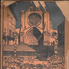 Libros antiguos: SALVAT BOVÉ. TARRAGONA EN LA HISTORIA GENERAL. DEDICATORIA .1929 TARRAGONA. IMP VENTURA ALTÉS. Lote 54222709