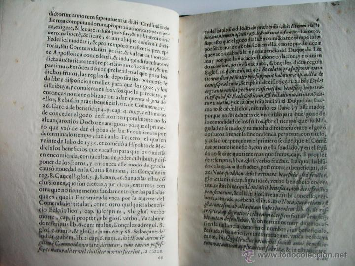 Libros antiguos: 1638-ENCOMIENDA.FELIPE ESPINOLA.MARQUÉS DE LOS BALBASES.BURGOS.DUQUE DE LERMA.DUQUE DE ALBURQUERQUE - Foto 3 - 54354078