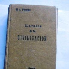 Alte Bücher - HISTORIA DE LA CIVILIZACIÓN (1911) - 54607120