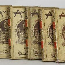 Libros antiguos: 7174 - AMÉRICA. 6 TOMOS (VER DESCRIP). JOSÉ COROLEU. EDI. M. Y SIMÓN. 1894-1896.. Lote 53745205