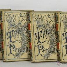 Libros antiguos: 7176 - TRADICIONES PERUANAS. 4 TOMOS(VER DESCRIP). R. PALMA. EDI. M. Y SIMÓN. 1893-96.. Lote 53746878