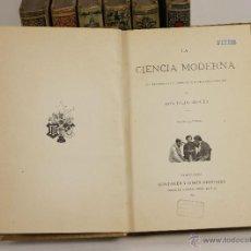Libros antiguos: 7184 - EDICIONES MONTANER Y SIMÓN. VII TOMOS. VV. AA(VER DESCRIP). 1894-1913.. Lote 53972841