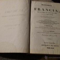 Libros antiguos: HISTORIA DE FRANCIA. Lote 54914407