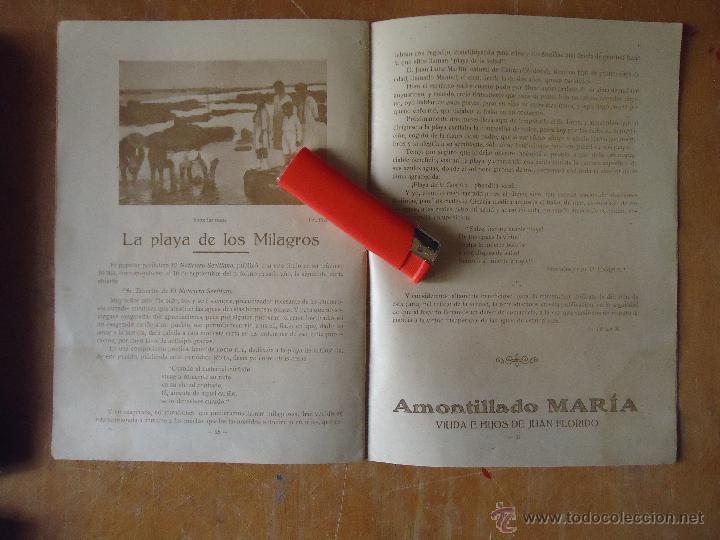 Alte Bücher: informacion grafica falta portada - cadiz villa de rota agosto 1921 playas andaluzas rota arabe - Foto 5 - 55024986