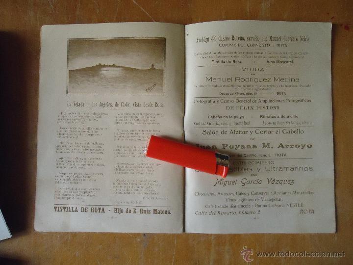 Alte Bücher: informacion grafica falta portada - cadiz villa de rota agosto 1921 playas andaluzas rota arabe - Foto 6 - 55024986