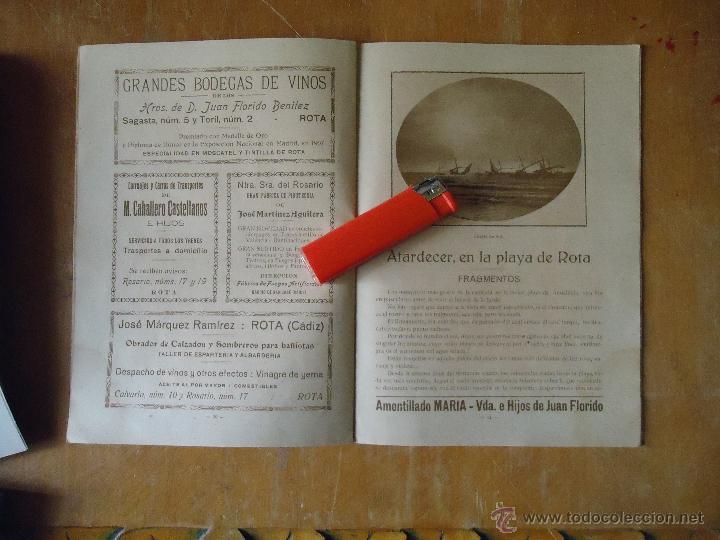 Alte Bücher: informacion grafica falta portada - cadiz villa de rota agosto 1921 playas andaluzas rota arabe - Foto 11 - 55024986
