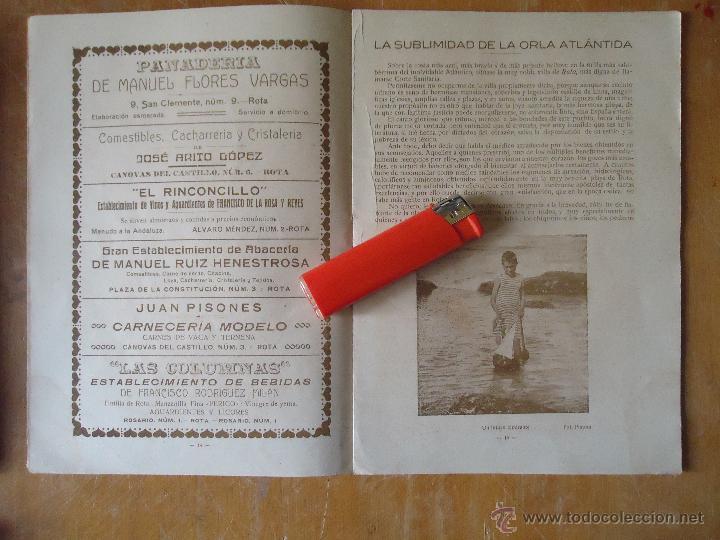 Alte Bücher: informacion grafica falta portada - cadiz villa de rota agosto 1921 playas andaluzas rota arabe - Foto 14 - 55024986