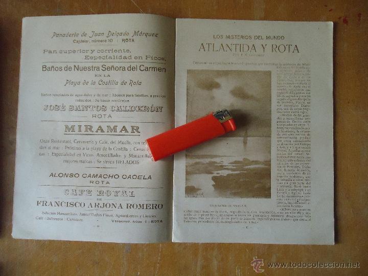 Alte Bücher: informacion grafica falta portada - cadiz villa de rota agosto 1921 playas andaluzas rota arabe - Foto 16 - 55024986