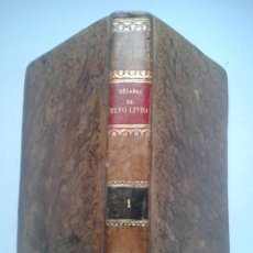 Libros antiguos: DÉCADAS DE TITO LIVIO. PRÍNCIPE DE LA HISTORIA ROMANA. TOMO I. PEDRO DE VEGA. AÑO 1793.. Lote 55036878