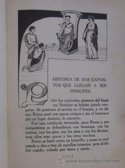 Libros antiguos: EL NACIMIENTO DE ROMA - AÑO 1931 - Foto 3 - 55041724