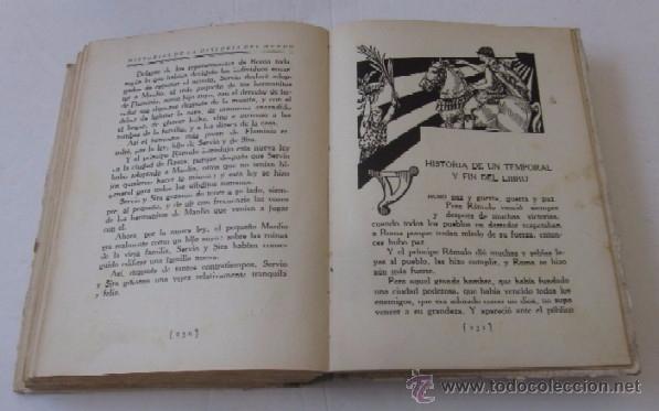 Libros antiguos: EL NACIMIENTO DE ROMA - AÑO 1931 - Foto 4 - 55041724