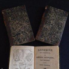 Libros antiguos: GONZALVE DE CORDOUE OU GRENADE RECONQUISE,PAR FLORIAN,GONZALO DE CORDOBA RECONQUISTA DE GRANADA 1810. Lote 55575521