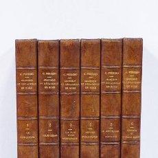Libros antiguos: G. FERRERO. GRANDEUR ET DÉCADENCE DE ROME. PARIS, LIBRAIRIE PLON, 1908-1909. [6 TOMOS, COMPLETO]. Lote 55733068