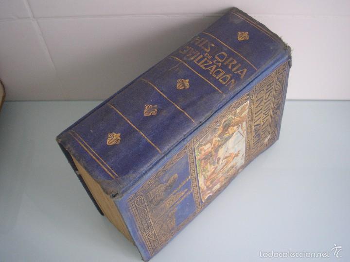 Libros antiguos: Historia de la Civilización - A. Herrero Miguel - Editorial Sopena - 1935 - Foto 2 - 55887978