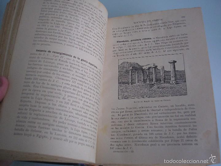 Libros antiguos: Historia de la Civilización - A. Herrero Miguel - Editorial Sopena - 1935 - Foto 6 - 55887978