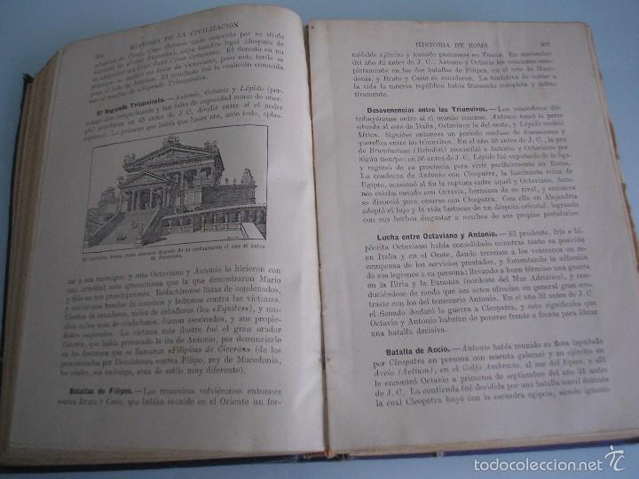 Libros antiguos: Historia de la Civilización - A. Herrero Miguel - Editorial Sopena - 1935 - Foto 7 - 55887978