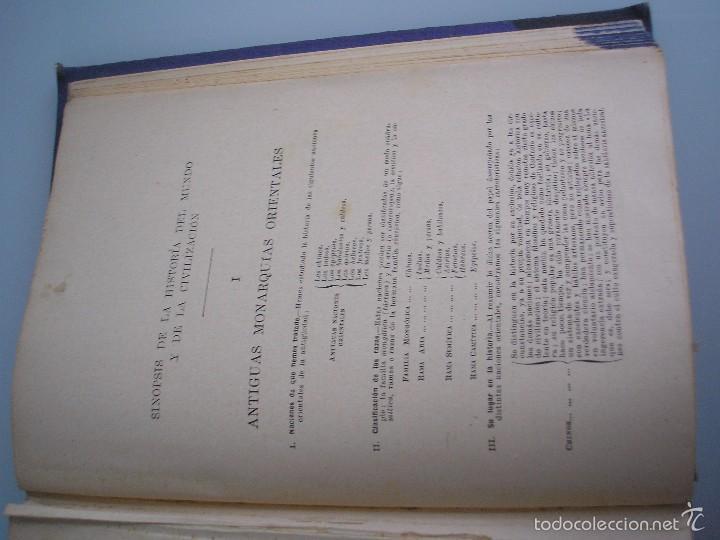 Libros antiguos: Historia de la Civilización - A. Herrero Miguel - Editorial Sopena - 1935 - Foto 9 - 55887978